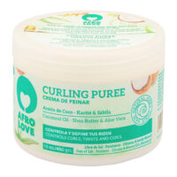 Afro Love curl enhancing styling cream silicone free paraben free mineral oil free