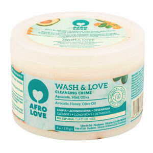 Afro Love Cowash for curly hair sls free paraben free silicone free