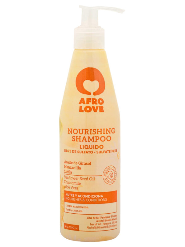 Afro Love Sulphate free silicone free shampoo