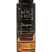 Afro y Rizo shampoo for curly hair