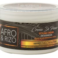 Afro y Rizo styling cream for curly hair